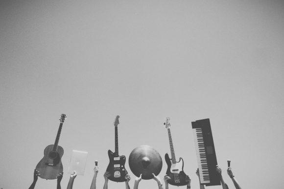 upbeat instrumental music